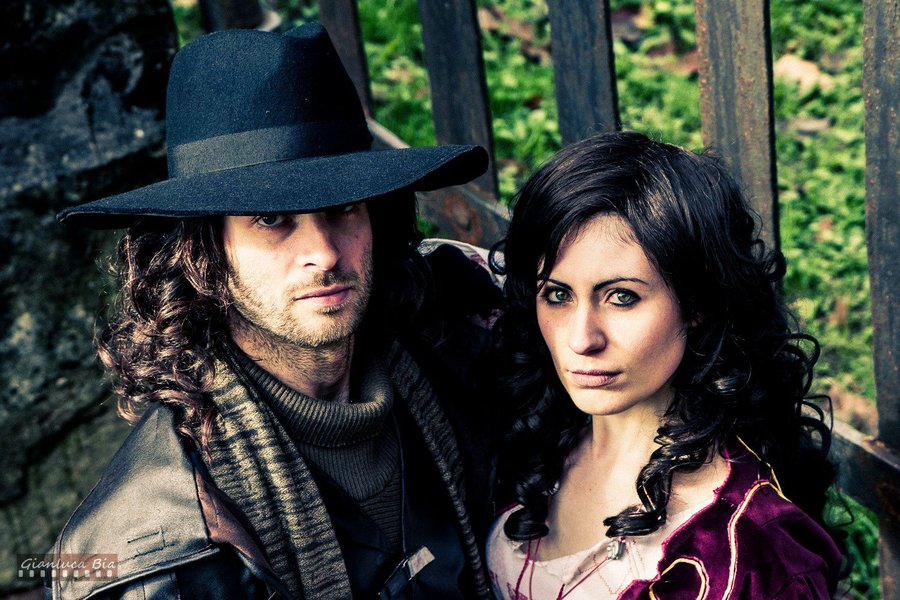 van_helsing_and_anna_valerious_cosplay